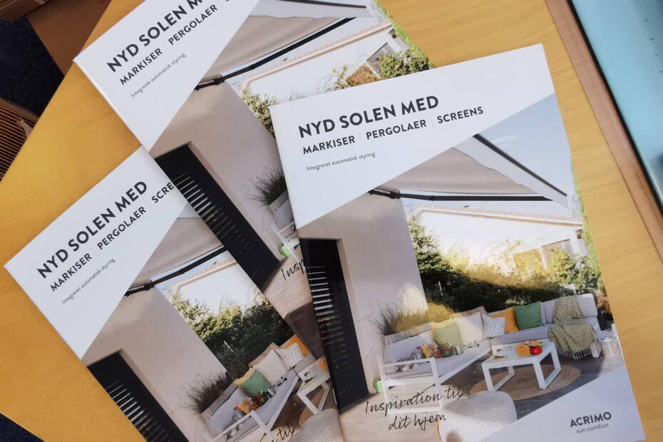 Nyd solen med Acrimo brochure
